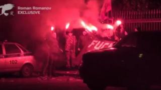 """акция протеста """"Другой России"""" у резиденции посла США в Москве"""