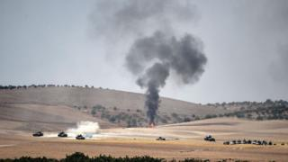 Suriye'de operasyon