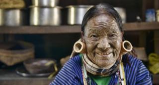 Perempuan dari suku Uppriu