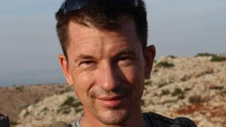 John Cantlie in November 2012