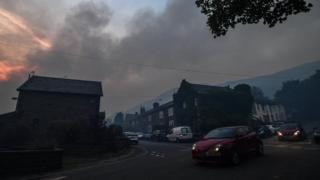 Smoke in Stalybridge