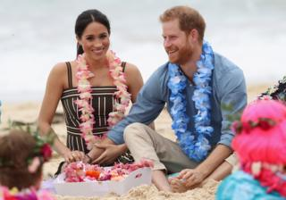 in_pictures Meghan and Harry on South Bondi beach