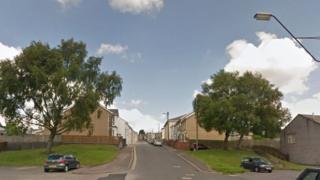 Moriah Street in Rhymney