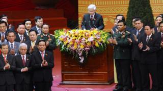 TBT Nguyễn Phú Trọng và quan chức cao cấp