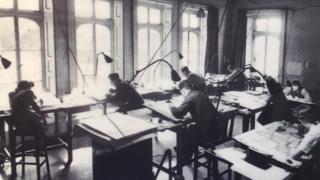 Map-makers at Hughenden Manor