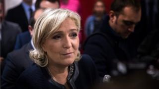 Umukandida w'ishyaka ry'Abarepubulikani azahura n'umuyobozi w'ishyaka ry'abagendera ku buhezanguni, Marine Le Pen