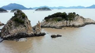 चीन का हुआओ द्वीप, क़ुदरत के करिश्मे की शानदार मिसाल