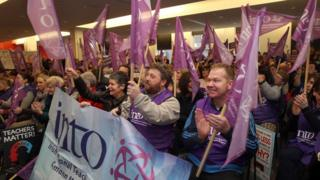 """The INTO says it remains in a pay dispute and hopes that a resolution may be found before it is """"forced"""" to announce another strike"""