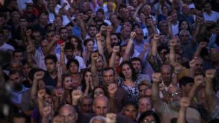 Протесты в Ереване