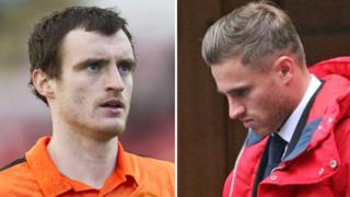 David Robertson and David Goodwillie