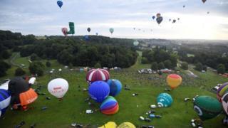 The Bristol International Balloon Fiesta
