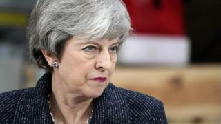 Theresa May  Theresa May asks MPs for 'honourable compromise' on Brexit  106054294 hi052811469