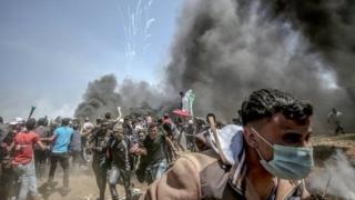 خشونت ها در مرز اسرائیل و غزه