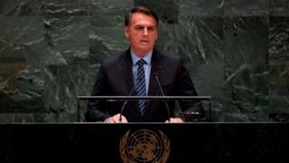 Bolsonaro abriu a Assembleia Geral da ONU nesta semana