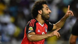Mohamed Salah has scored six goals in qualifying but has never been to a World Cup competition