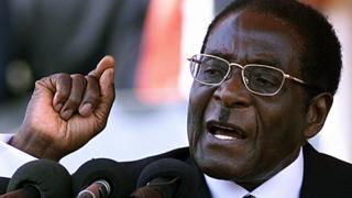 Robert Mugabe, 2003
