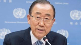 Ông Ban đưa ra bình luận trong bối cảnh tiếp tục có các cuộc biểu tình tại Seoul.