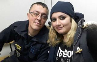 المقدوني دودفسكي وزوجته العراقية نورا