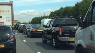 Delays on M25