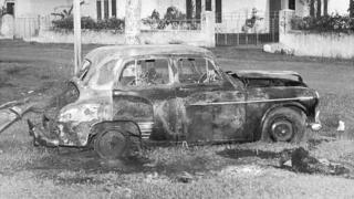 Black July riots in Sri Lanka 1983