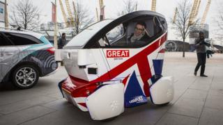 Driverless cars have already been tested in British cities
