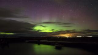 Aurora seen from Caithness