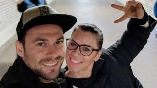 Andreea Cristea and boyfriend Andrei Burnaz