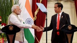 Modi dan Jokowi