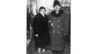Филипп Васильченко с женой в 1969 году
