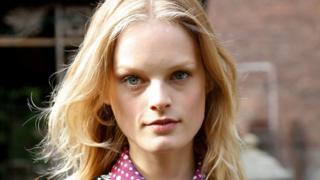 La modelo Hanne Gaby Odiele