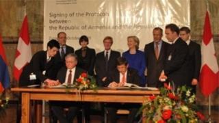 Sürix protokollarının imzalanmasında ABŞ, Rusiya və İsveçrə xarici işlər nazirləri də iştirak ediblər