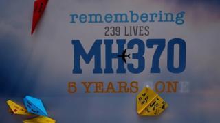 MH370 2014'te ortadan kayboldu.