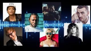 بعض من أبرز الفنانيين شعبية في عام 2017