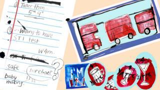 Огласна табла: рекламе са Креглисте, слике дабл-декер аутобуса