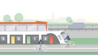 Part of a promotional video from the Luxembourg government