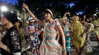 показ мод на Кубі