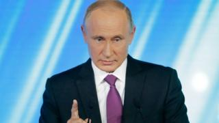 President Trump talk say President Putin tell am 'No' wen e ask am again and again if Russia put mouth for US election.