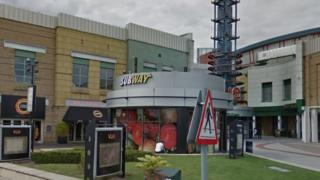StarCity entertainment complex with signs for Vue cinema