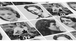 Collage of women on who may be on the banknote