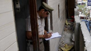رجل شرطة هندي