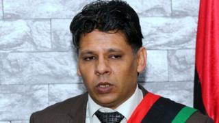 Seddik al-Sour, le responsable des enquêtes au bureau du procureur général de la Libye