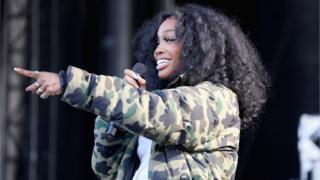 SZA performs in Virginia Beach, Virginia April 2019