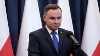 الرئيس البولندي أندريه دودا