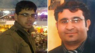 Imran Khan and Ahmedin Khyel