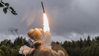 صاروخ روسي متوسط المدى