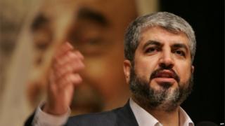 Hamas leader Khaled Meshaal. File photo