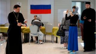 Росіяни голосують у Єрусалимі