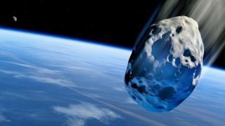 Cometa se aproximando da Terra