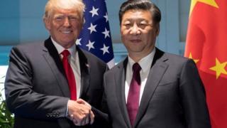 Дональд Трамп, Сі Цзіньпін