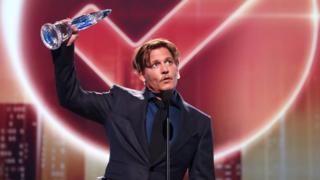 Johnny Depp at People's Choice Awards